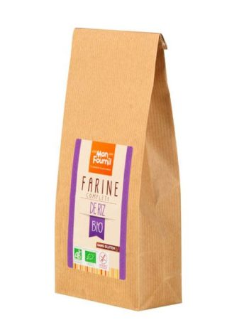 Crêpes légères à la Farine de riz & au Lait d'amande - Farine de riz bio sans gluten Mon Fournil
