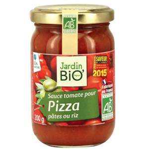 Sauce Tomate Pizza Jardin Bio - Pita Pizza - Recette Ma Healthy Tendency