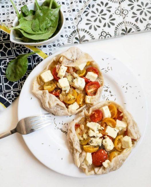 Feuilletés Tomate Feta Oignon Recette Ma Healthy Tendency