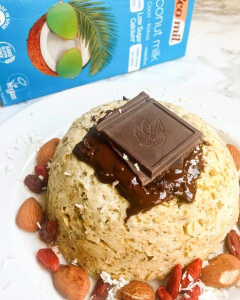 Bowl Cake à la farine de coco - Recette Ma Healthy Tendency