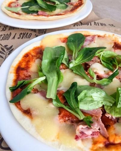 Pizza Tortilla Tomate Basilic, Jambon & Mozza Recette Ma Healthy Tendency