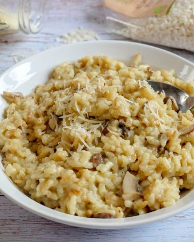 Risotto Champignons - Recette Ma Healthy Tendency