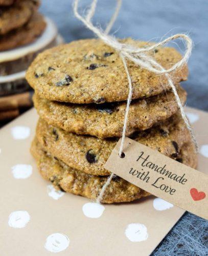 Cookies sans beurre moelleux pépites de chocolat et pistache - Recette Ma Healthy Tendency