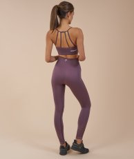 Legging SEAMLESS ENERGY HIGH WAISTED CROPPED LEGGINGS Purple - 50€