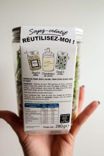 Salad Jar by Fleury Michon VS Homemade Ma Healthy Tendency