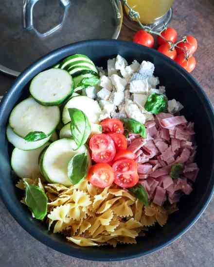 Recettes Express - 2 recettes de One Pot Pasta - Ma Healthy Tendency