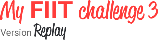 My fiit challenge 3 - Programme HIIT - Justine Gallice - Ma Healthy Tendency
