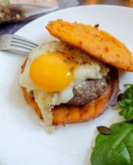 buger aux galettes de patate douce mahealthytendency