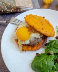 buger galettes de patate douce mahealthytendency
