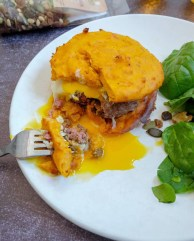 burger recette mahealthytendency galettes de patate douce