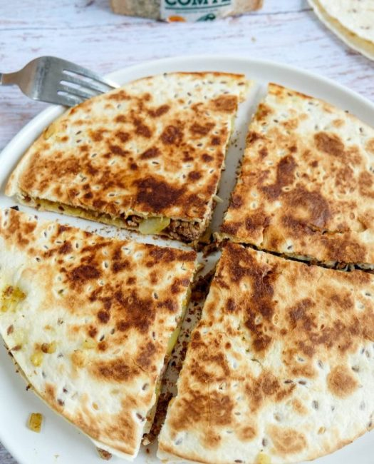 Quesadillas Boeuf Curry & Comté Recette Ma Healthy Tendency