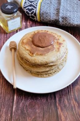 pancakes au miel ma healthy tendency