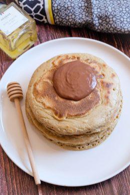 pancakes au miel recette mahealthytendency