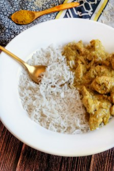 riz et poulet coco curry mahealthytendency