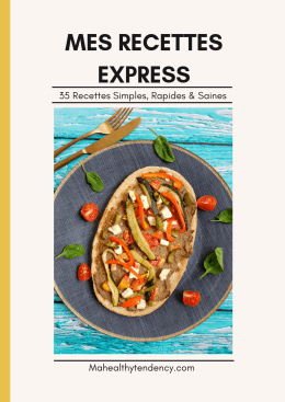 mes recettes express ebook couverture mahealthytendency