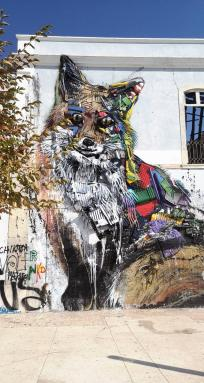 Bordalo II - Plastic Fox