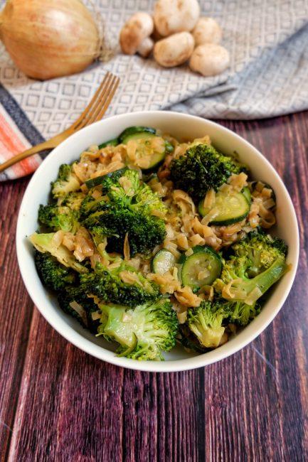 Wok Nouilles & Légumes - Recette Mahealthytendency.com