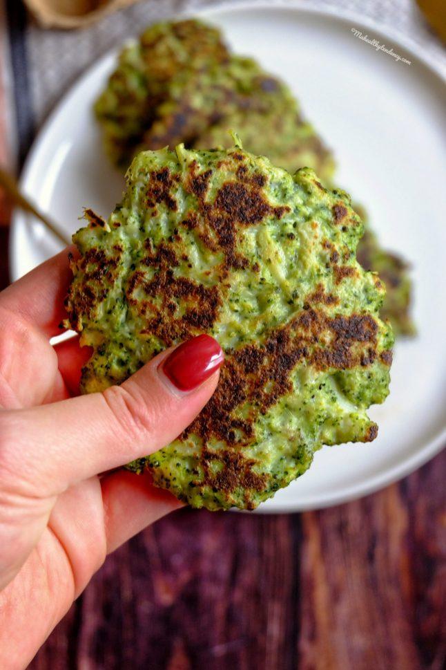 galette brocoli recette ma healthy tendency