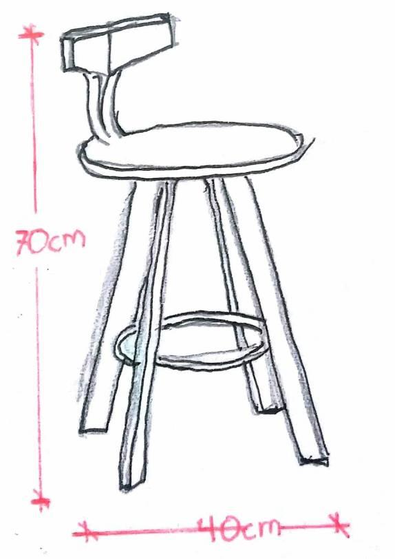 Gambar Kursi 3 Dimensi : gambar, kursi, dimensi, Setting, Furniture, MahendraVisual