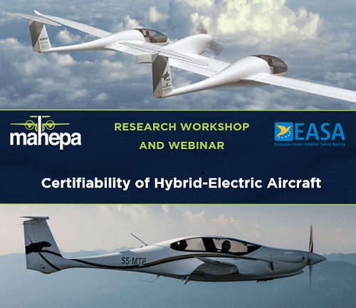 MAHEPA and EASA unite on certifiability of hybrid-electric aviation: The greener aviation is coming