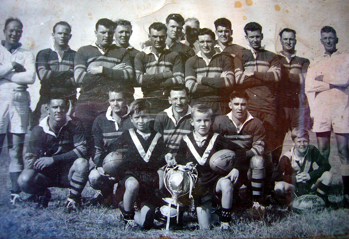 With the Cup 1955