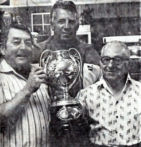 Ton Wainwright, Peter Diversi & Vic Castrission with the Blooda Maher Cup