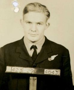 A young Fred De Belin in the RAAF