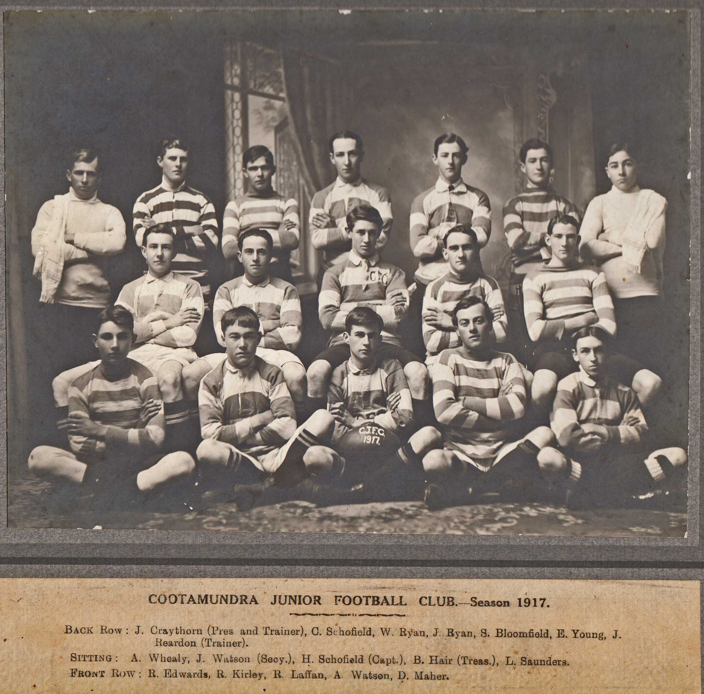 Old Rugby League Games: A Pictorial History Of Cootamundra Rugby