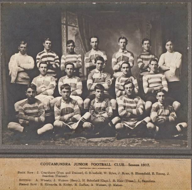 The Junior club 1917, still playing 15 a-side