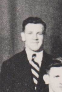 Ian Johnston in the 1949 Australian team
