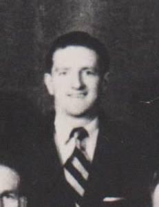 John Graves in the 1949 Australian team