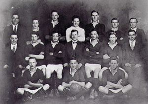 Bill Maizey 3rd from left in back row, and brother Wal 5th - Gladesville 2nd Grade. Source: Trove