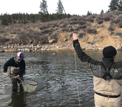 Guided fly fishing on the truckee river with maher 39 s guide for Truckee river fishing report