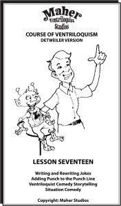 Maher Course of Ventriloquism Lesson 17