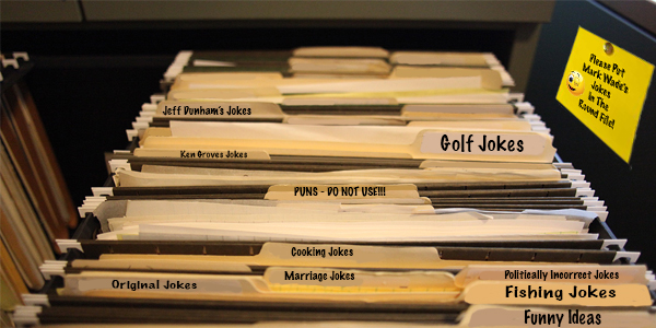 Organizing The Joke File
