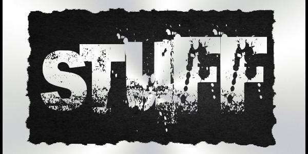 Stuff …