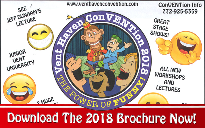 The International Ventriloquist ConVENTion Is Almost Here!