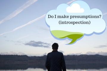 Do I make presumptions? (introspection)