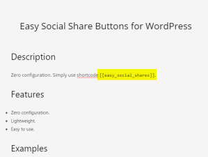 Display a shortcode without executing