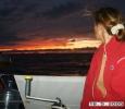 Vackra solnedgångar