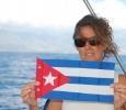 Vår fina Cubaflagga