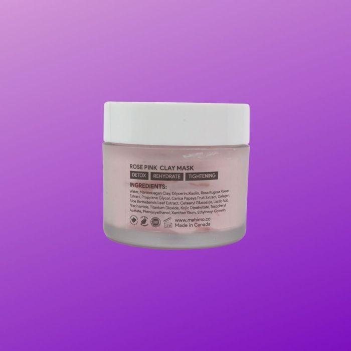 STEM CELLULAR MASK - ROSE PINK CLAY MASK