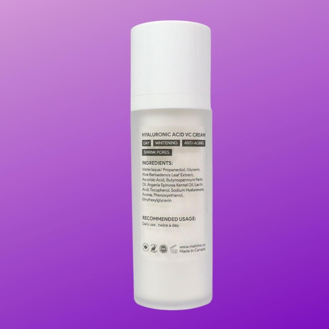 Hyaluronic acid, Vitamin C