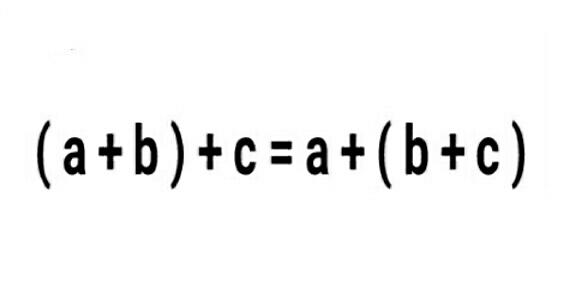 sifat asosiatif komutatif dan distributif
