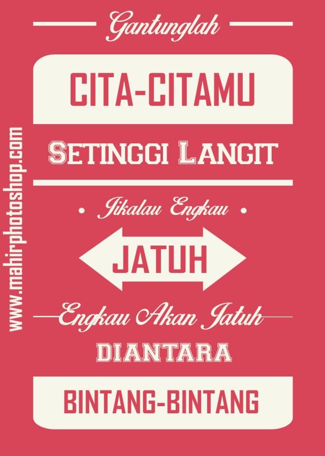 Flat Typography