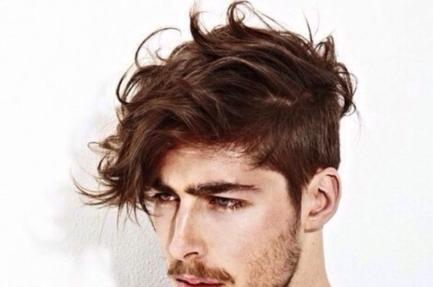 rambut berantakan