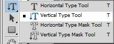 Vertical Type Tool