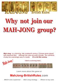 Mah-Jong Clubs