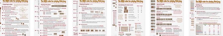 American mah-jongg betting rules mmamania bettingadvice