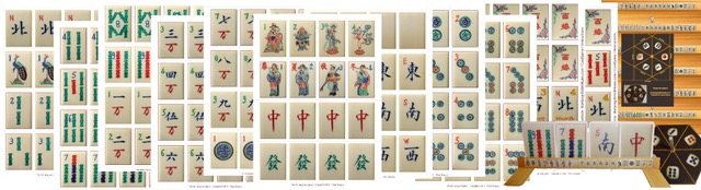 graphic regarding Mahjong Card Printable identified as An illustrated description of Mah-Jong (BMJA legislation)
